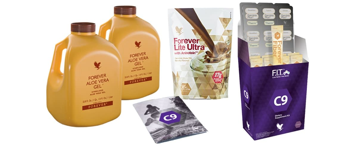 FOREVER FIT PROGRAMME WITH CLEAN 9 DIET
