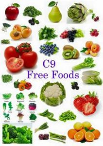 9 DAYS FREE FOODS